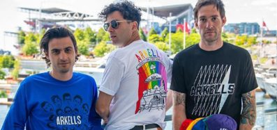 A photo of the band Arkells