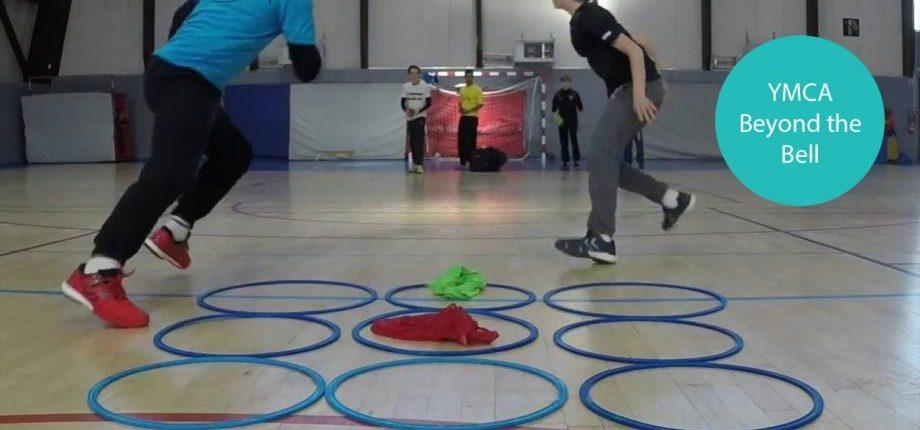 Tic Tac Toe with Hula Hoops